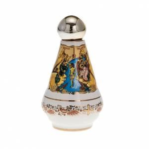 Bottiglietta acqua santa ceramica Madonna s2
