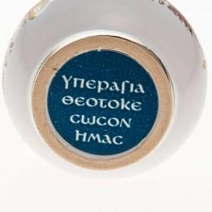 Bottiglietta acqua santa ceramica Madonna s3