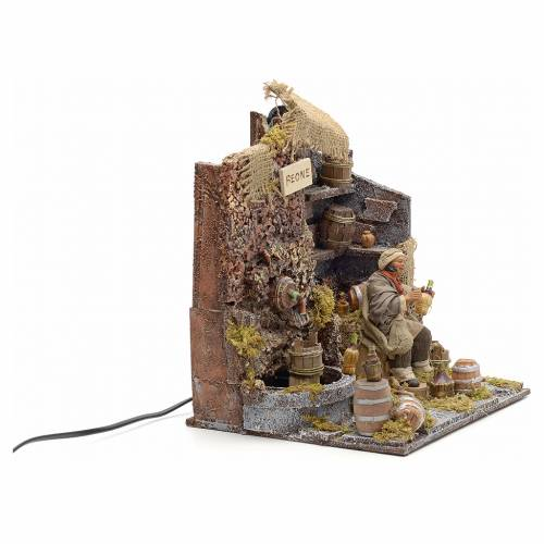 Bouveur animé crèche Napolitaine 12 cm s2