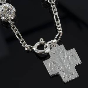 Bracelet dizainier argent swarovski 8mm s4
