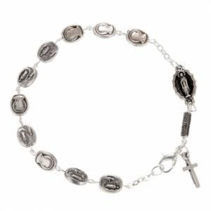 Bracelet dizainier Ghirelli Notre Dame de Lourdes 6x8mm s1