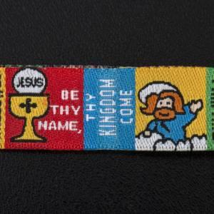 Bracelets divers: Bracelet et marque pave Our Father ENG