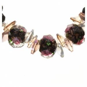 Bracelet Trinité élastique Cristal noir s2