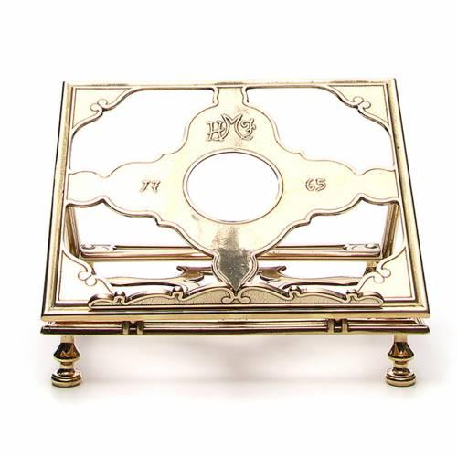 Brass book-stand s1