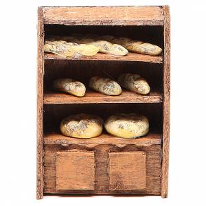 Bread Shelf for nativities 10cm s1