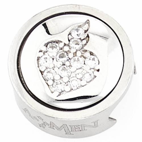 Breloque pour bracelet AMEN Sacré Coeur dévotion s1