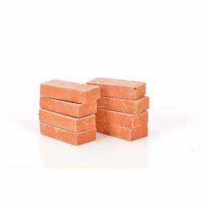 Briques miniatures 20x10 mm 8 pcs s1