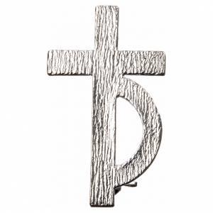Croix de Clergyman: Broche pour diacre argent 800
