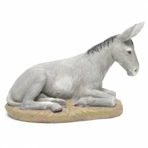 Animales para el pesebre: Burro resina 50 cm Linea Martino Landi