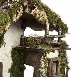 Cabaña con puerta y ventana 30x42x18cm s6