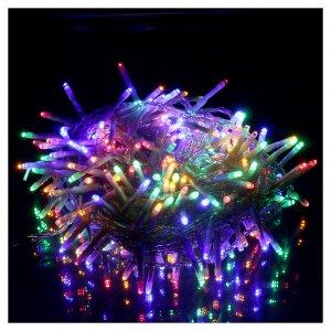 Cadena navide a luminosa 240 led multicolor memoria y for Decoracion luminosa navidena