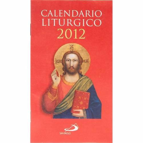 Calendario liturgico anno 2012 1