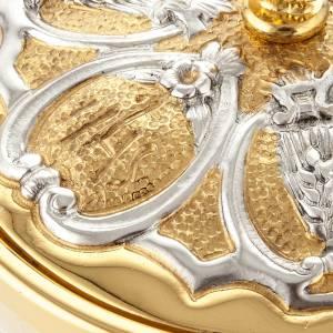 Calice argento e Pisside dorata argentata 3 putti s11