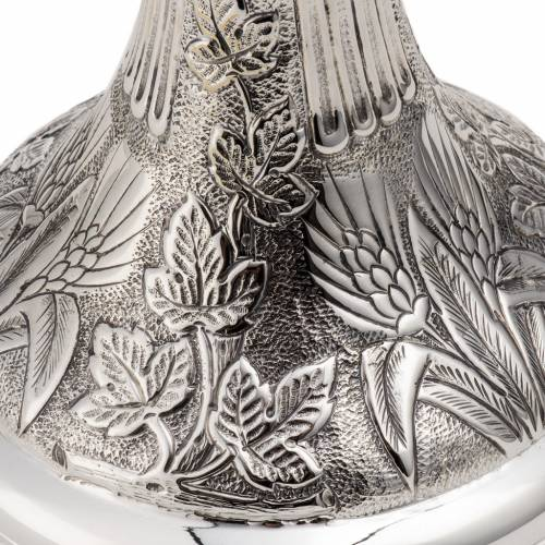 Calice e pisside argento 800 mod. Colomba s9