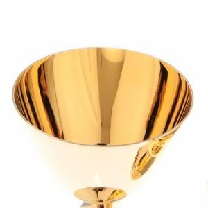 Calice e Pisside ottone dorato lucido s4