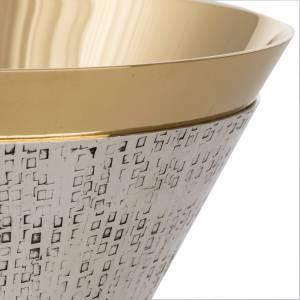 Calices Ciboires Patènes en métal: Calice mod. Ventus métal argenté doré