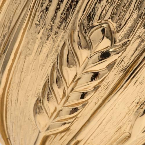 Calice pisside patena Molina ottone spighe s4