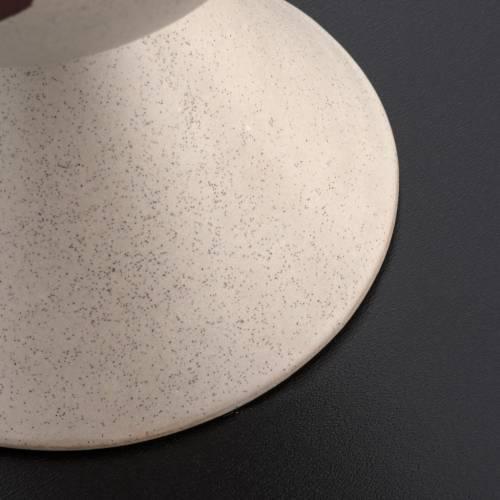 Cáliz de cerámica color beis, Año de la Fe s4