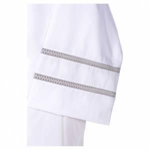 Camice con croce e gigliuccio bianco s4