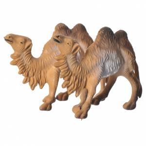 Animali presepe: Cammelli per presepe 3cm set 2pz