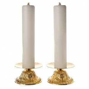 Candelieri metallo: Candelieri con finte candele 2 pz