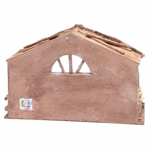 Capanna con finestra ad arco 20x35x20cm s4
