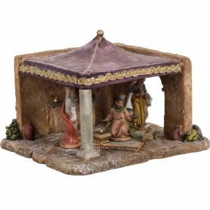 Carpa de los Reyes Magos para pesebre 6,5cm, Fontanini s1