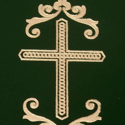 Carpeta portaritos de piel verde s2