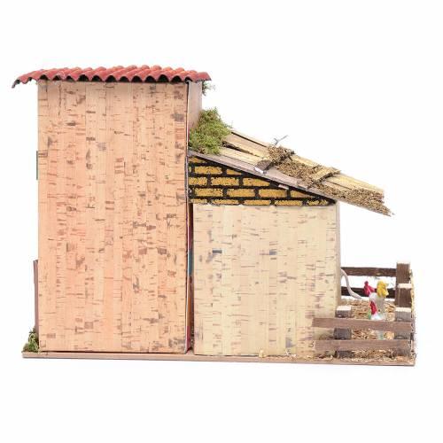Casa 20x28x15 ave de corral y asno s4