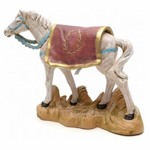 Cavallo bianco 19 cm Fontanini s2