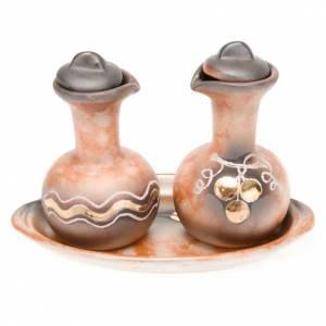 Ceramic cruet set s2