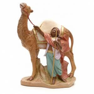 Santons crèche: Chamelier et son chameau crèche Fontanini 19 cm