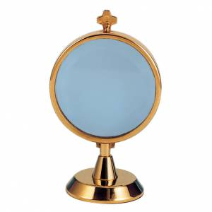 Chapel Monstrance in silver 800, 24k gold plated s1