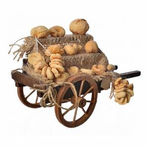 Char du pain en miniature crèche Napolitaine s2