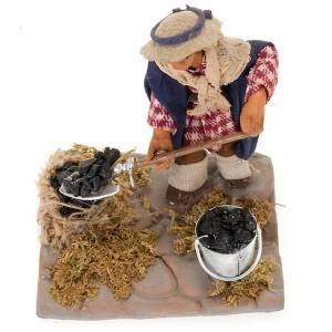 Charcoal burner 10 cm for nativity scene s3