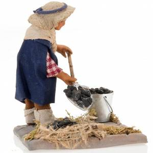 Charcoal burner 10 cm for nativity scene s4