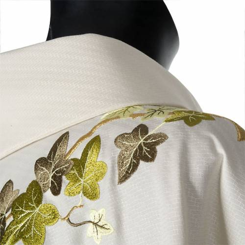 Chasuble and stole, ivy and pelican s6