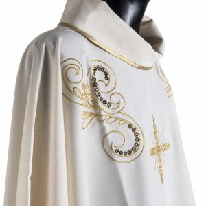 Chasuble golden cross embroidery s6