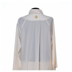 Chasuble in 80% polyester 20% wool, Lamb of God s6