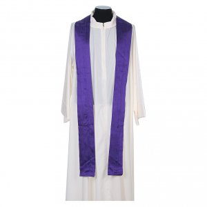 Chasuble in pure Shantung silk s10