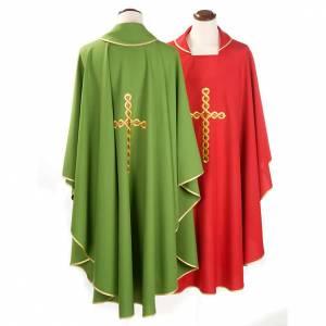 Chasuble liturgique croix tortillon s2