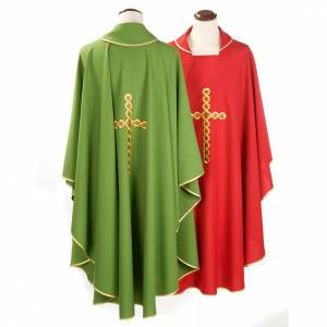 Chasuble with spiral cross s2