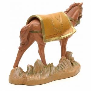 Cheval marron crèche Fontanini 19 cm s3