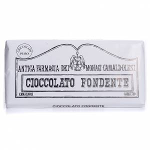 Chocolate trapense: Chocolate amargo 50 gr Camaldoli
