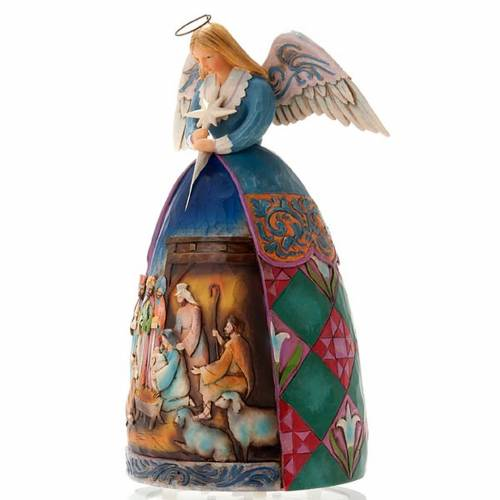 Christmas angel music box, a star shall guide us s3