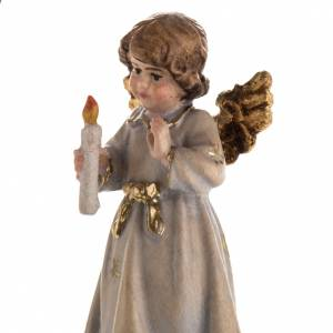 Christmas decor angel with candle star s6