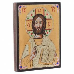 Handgemalte rumänische Ikonen: Christus Pantokrator