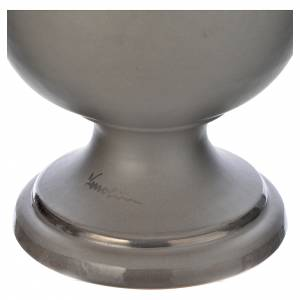 Cinerary urn in ceramic, light grey s3