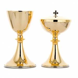 Metal Chalices Ciborium Patens: Classic style chalice and ciborium