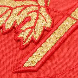 Clergy stole with Chi-Rho embroidery s2